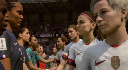 Essa é a primeira vez que uma atleta feminina vai poder ser criada e personalizada em uma franquia de futebol