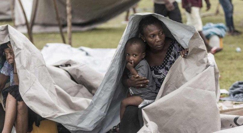 REGINALD LOUISSAINT JR / AFP