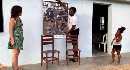 'Do Burkina Faso a Terras Quilombolas: um encontro pela oralidade'
