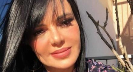 Valentina Francavilla, assistente de palco de 'Ratinho'