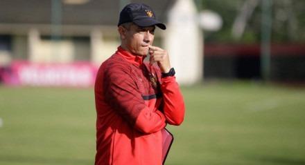 Gustavo Florentín, técnico do Sport