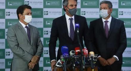 Arthur Maia, Fernando Monteiro e Arthur Lira