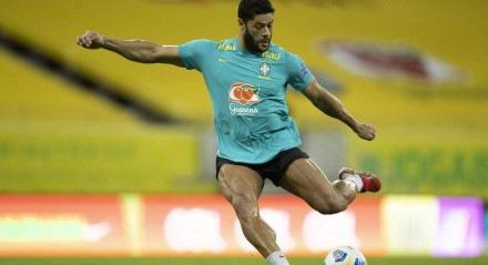 Hulk, atacante do Brasil e do Atlético-MG