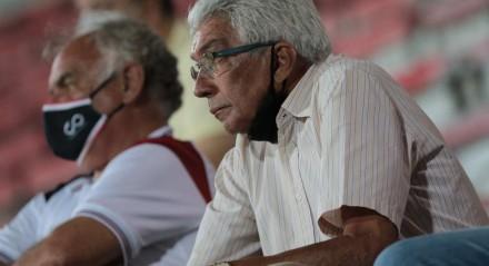 Jogo entre o Santa Cruz e o Altos. Partida valida pelo Brasileiro da Serie C no Estádio do Arruda, em Recife (PE),  neste sábado, 11 de setembro de 2021. FOTO: ALEXANDRE GONDIM/JC IMAGEM