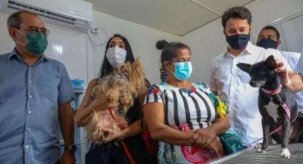 inauguração da UBS Pet foi marcada por um grande mutirão de atendimentos clínicos, cirurgias de castração e vacinação