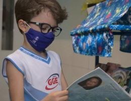O projeto L.E.R., do Colégio GGE, acompanha estudantes da Educação Infantil ao Ensino Médio