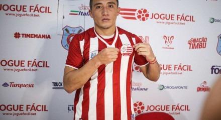 Jacob Murillo foi apresentado nesta terça-feira (14)