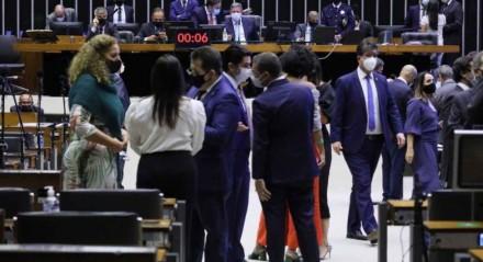 Sessão do plenário da Câmara dos Deputados