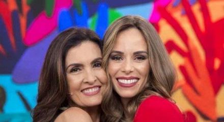 Ana Furtado e Fátima Bernardes
