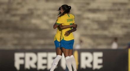 Brasil venceu a Argentina em amistoso realizado em Campina Grande