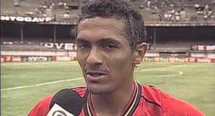 Leonardo marcou cinco gols na última vitória do Sport contra o Atlético-MG em Minas Gerais.