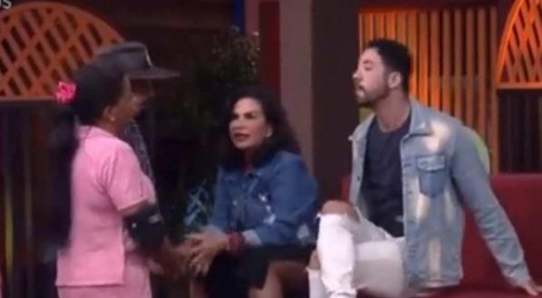 Solange Gomes brigou com Rico Melquiades no reality 'A Fazenda 2021'