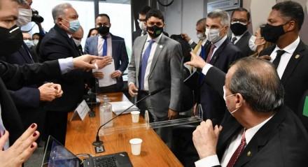 Wagner Rosário vem sendo criticado pela cúpula da CPI por suposta omissão no caso Covaxin