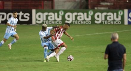 Jogo entre os times do Náutico(PE) e Londrina(PR), partida valida pelo campeonato brasileiro de futebol da série B 2021. Realizado no estádio dos Aflitos nesta terça-feira, 21 de setembro de 2021.