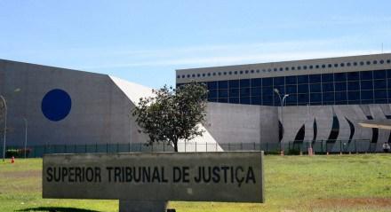 Fachada do edifício sede do  Superior Tribunal de Justiça (STJ)