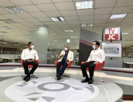Fernando Castilho entrevista André Cavalcanti, CEO da Elétron Energy, João Santos, CFO da companhia, na TVJC