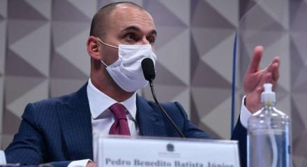 Pedro Benedito Batista Júnior foi ouvido nesta quarta-feira (22)
