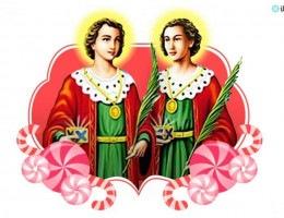 Dia de São Cosme e Damião comemorados nesta domingo e segunda feira.