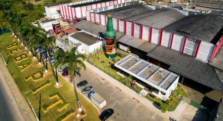 A unidade fabril localiza-se em Vitória de Santo Antão