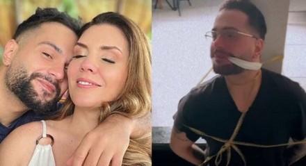 Simony amarra marido após perder a aliança