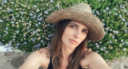 Apresentadora do GNT, Fernanda Lima é casada com o ator Rodrigo Hilbert e tem três filhos