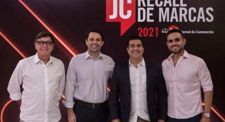 Ângelo Melo, Vladimir Melo, Wagner Mendes e Miguel Melo