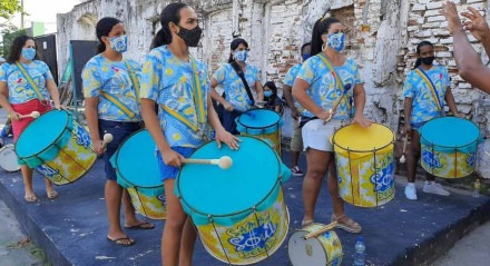 Ensaio do Bloco Samba Soul Delas