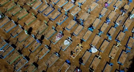 Número de mortes por covid-19 no País chegou a 600 mil