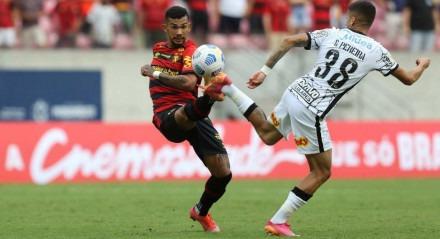 Gustavo assumiu a camisa 10 do Sport na reta final desta temporada