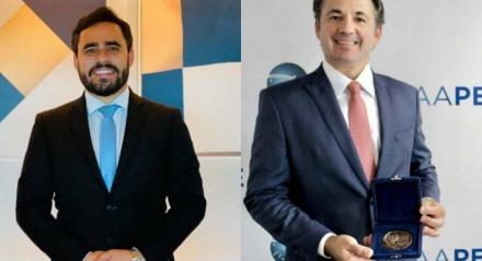 Almir Reis e Fernando Ribeiro, candidatos à presidência da OAB-PE