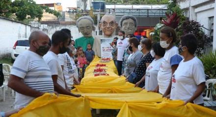 O lançamento da campanha Natal Sem Fome de 2021 em Pernambuco será diante da sede da Ação da Cidadania Pernambuco Solidário, localizada no Parque de Exposições do Cordeiro.