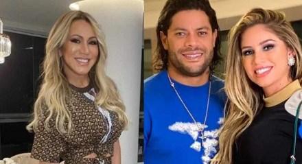 Iran Ângelo é ex-esposa de Hulk Paraíba, e tia da atual esposa do jogador