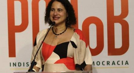 A vice-governadora de Pernambuco, Luciana Santos (PCdoB), foi reeleita como presidente nacional do partido