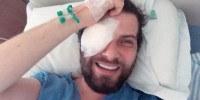 Saulo Meneghetti se submete a cirurgia nos olhos