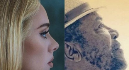 Adele e Martinho da Vila com capas semelhantes