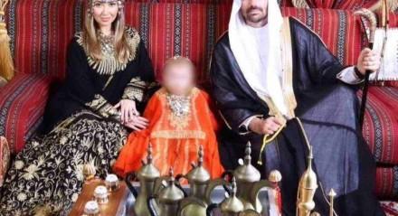 Eduardo Bolsonaro com família em Dubai