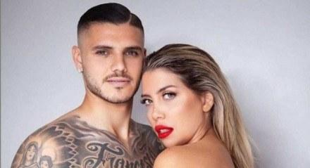 Casal surgiu em 2014, após Wanda deixar Maxi López, então amigo de Mauro Icardi