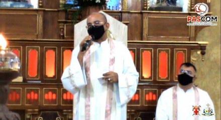 Padre Luisinho, pároco da Paróquia de São Francisco de Assis, em Afogados da Ingazeira