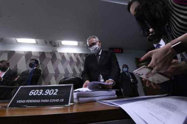Renan Calheiros, relator da CPI da Covid no Senado