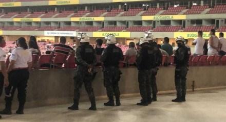 Secretaria rebateu dirigente estadual de que não haveria segurança nos Estádios