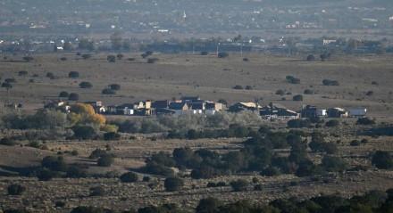 Rancho Bonanza Creek, onde era rodado o filme