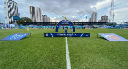 Paysandu não começou bem o jogo contra o Ituano na Curuzu