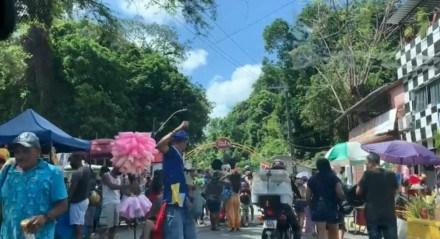 Parque Estadual de Dois Irmãos, na Zona Norte do Recife, neste domingo (24)