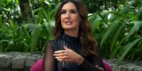 Fátima Bernardes em entrevista no Fantástico