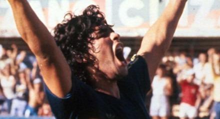 Maradona é ídolo do Boca Juniors