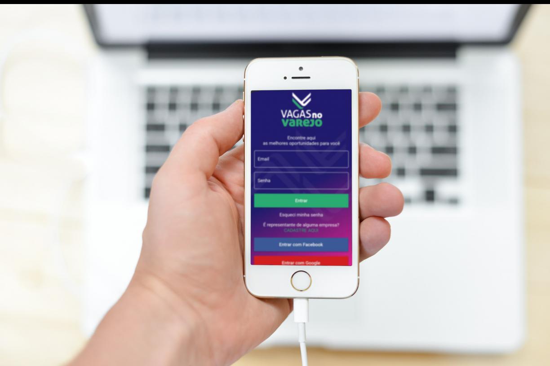 Emprego: associações criam aplicativo com mais de 4 mil vagas no varejo