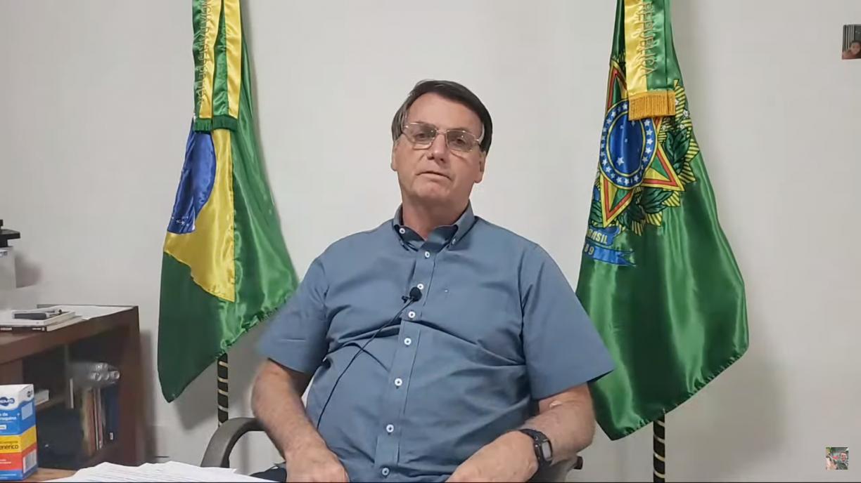 Mesmo com coronavírus, Bolsonaro realiza tradicional live de quinta-feira
