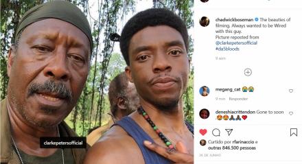 Ator Clarke Peters lamenta morte de Chadwick Boseman