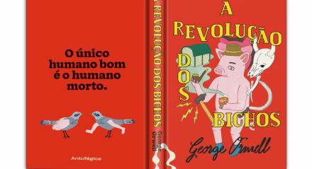 'A Revolução dos Bichos' figura entre as obras mais procuradas de George Orwell