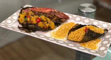 Receita de Saramunete do Mar do chef Rivandro França